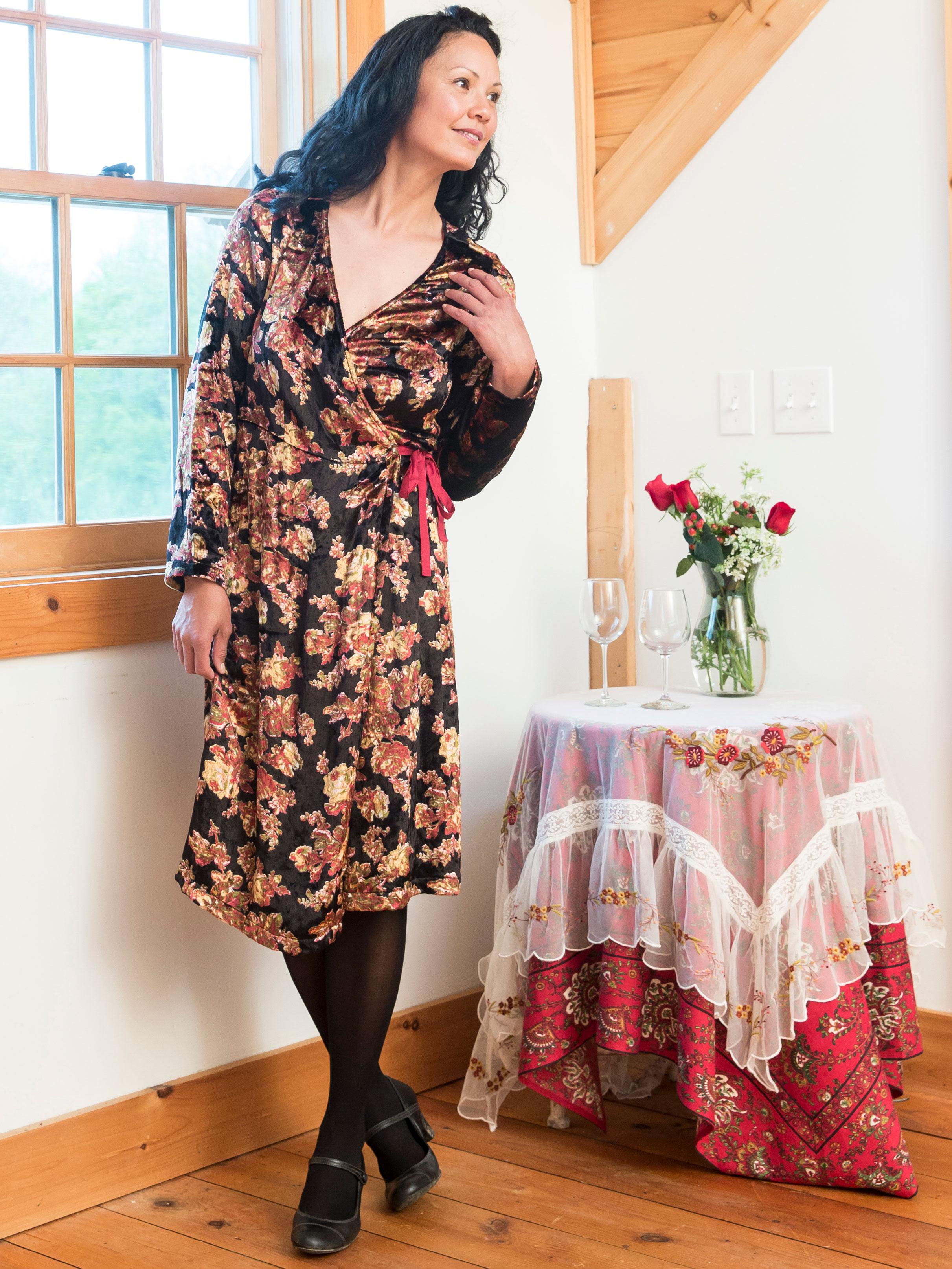 Guenevere Wrap Dress