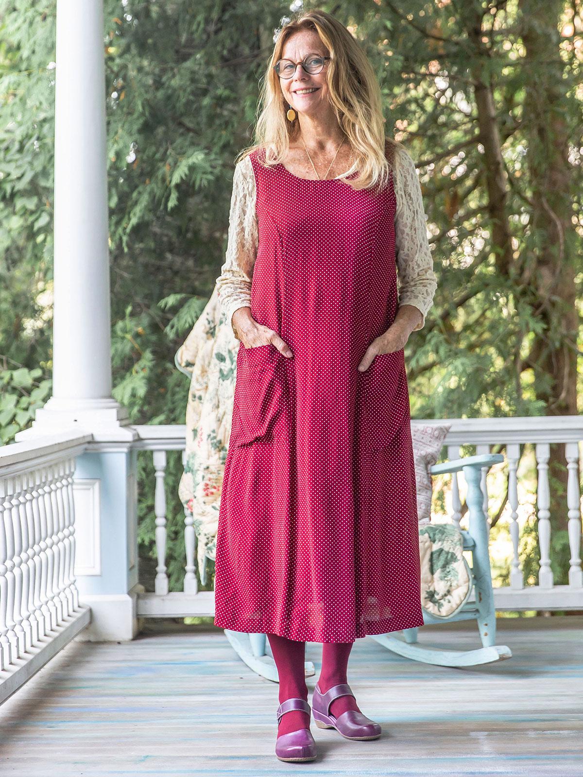 Camilla Dot Dress