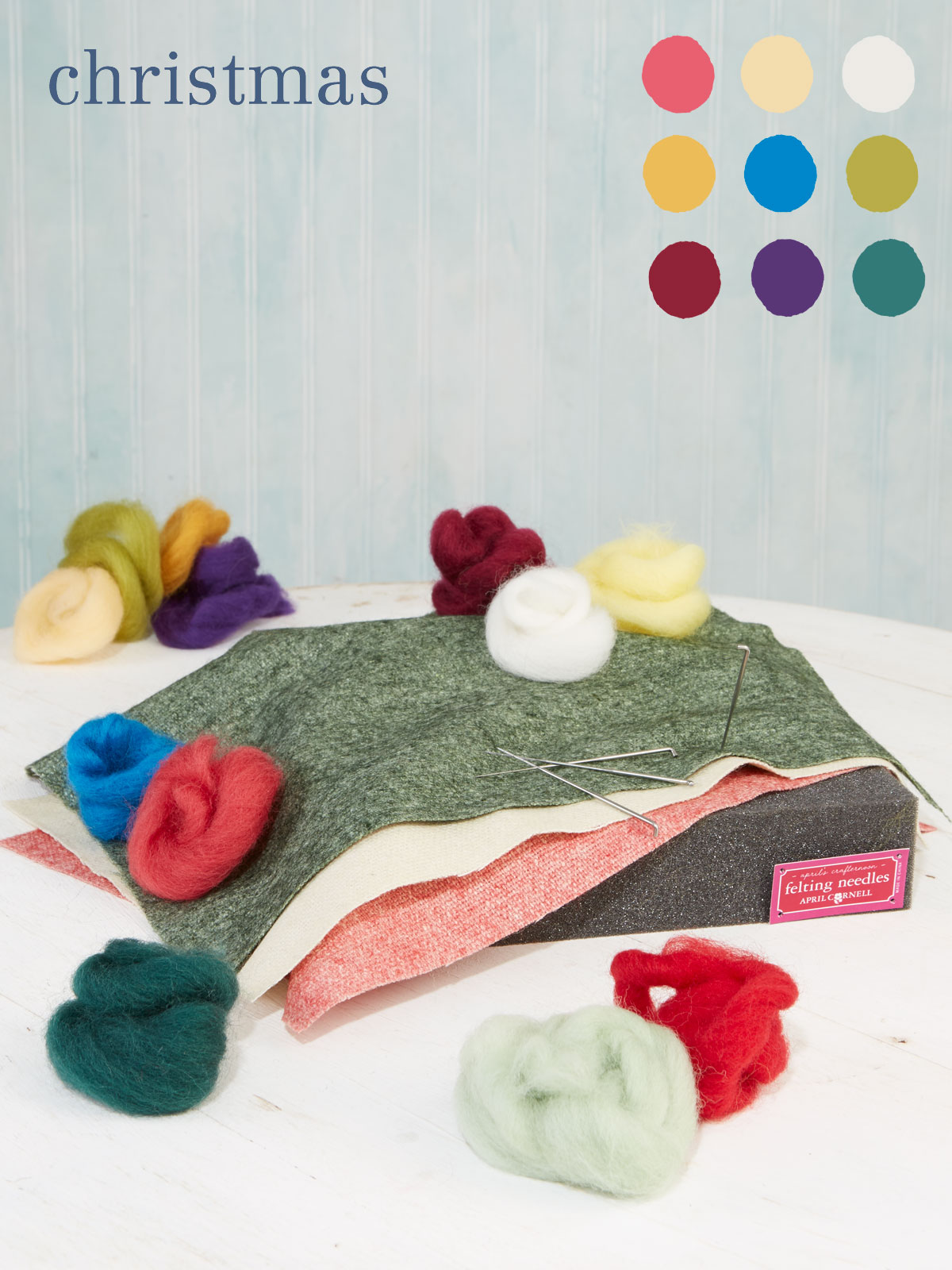 Christmas Large Felting Kit