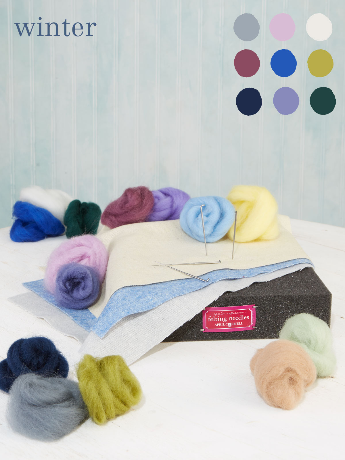 Winter Large Felting Kit