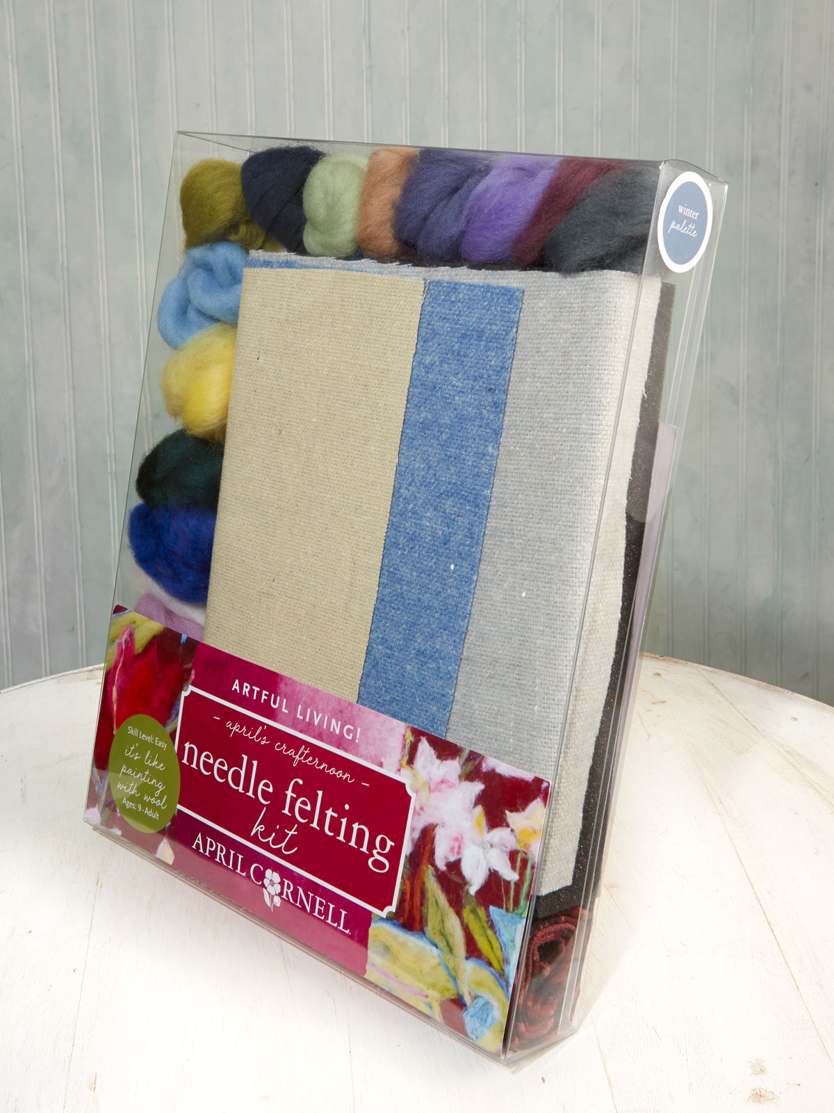 Winter Large Felting Kit April S Crafternoons Wool