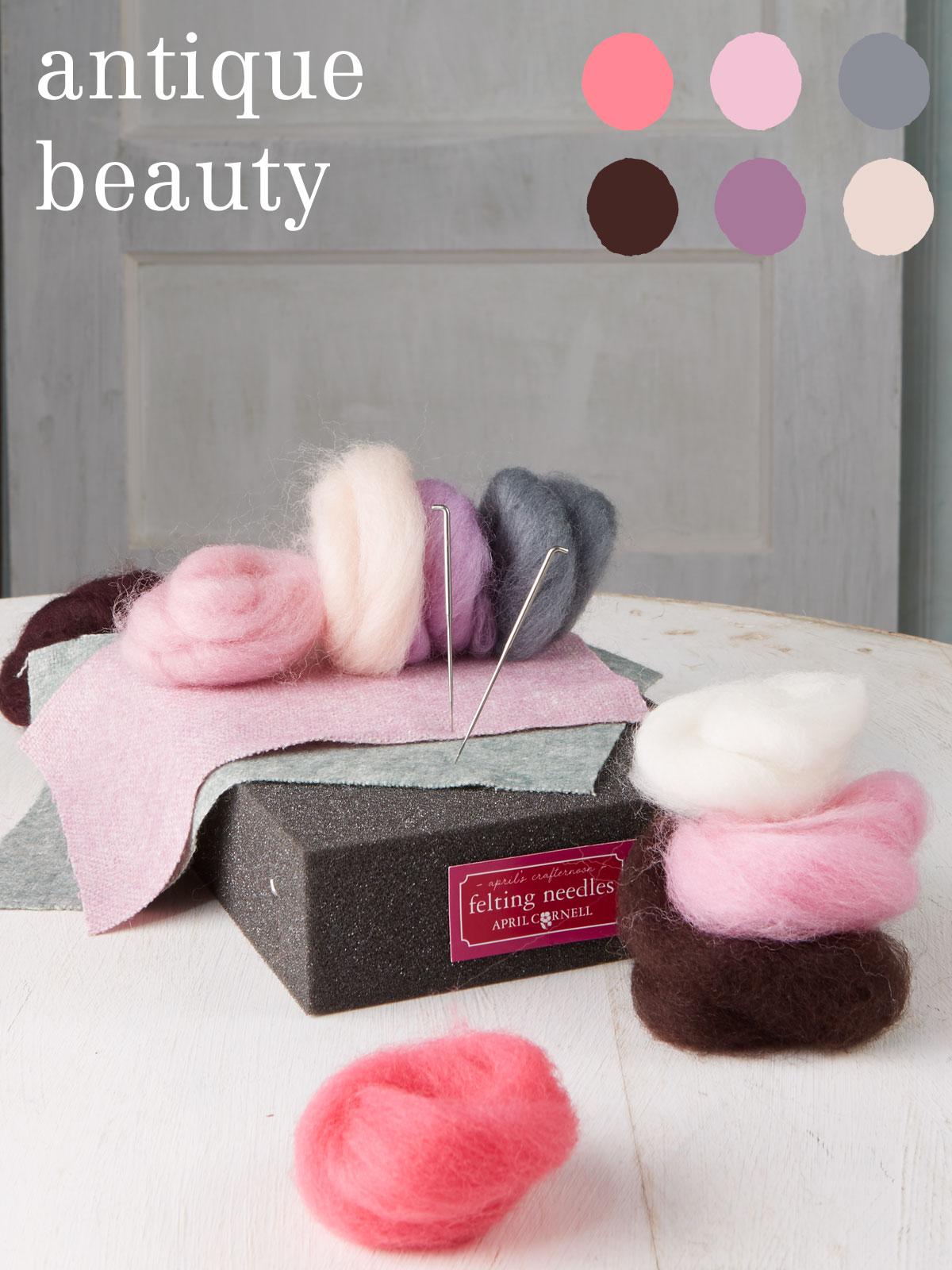 Antique Beauty Medium Felting Kit