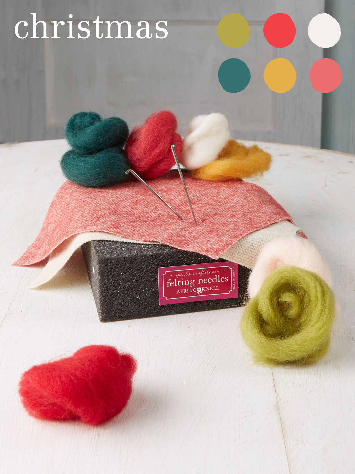 Christmas Medium Felting Kit
