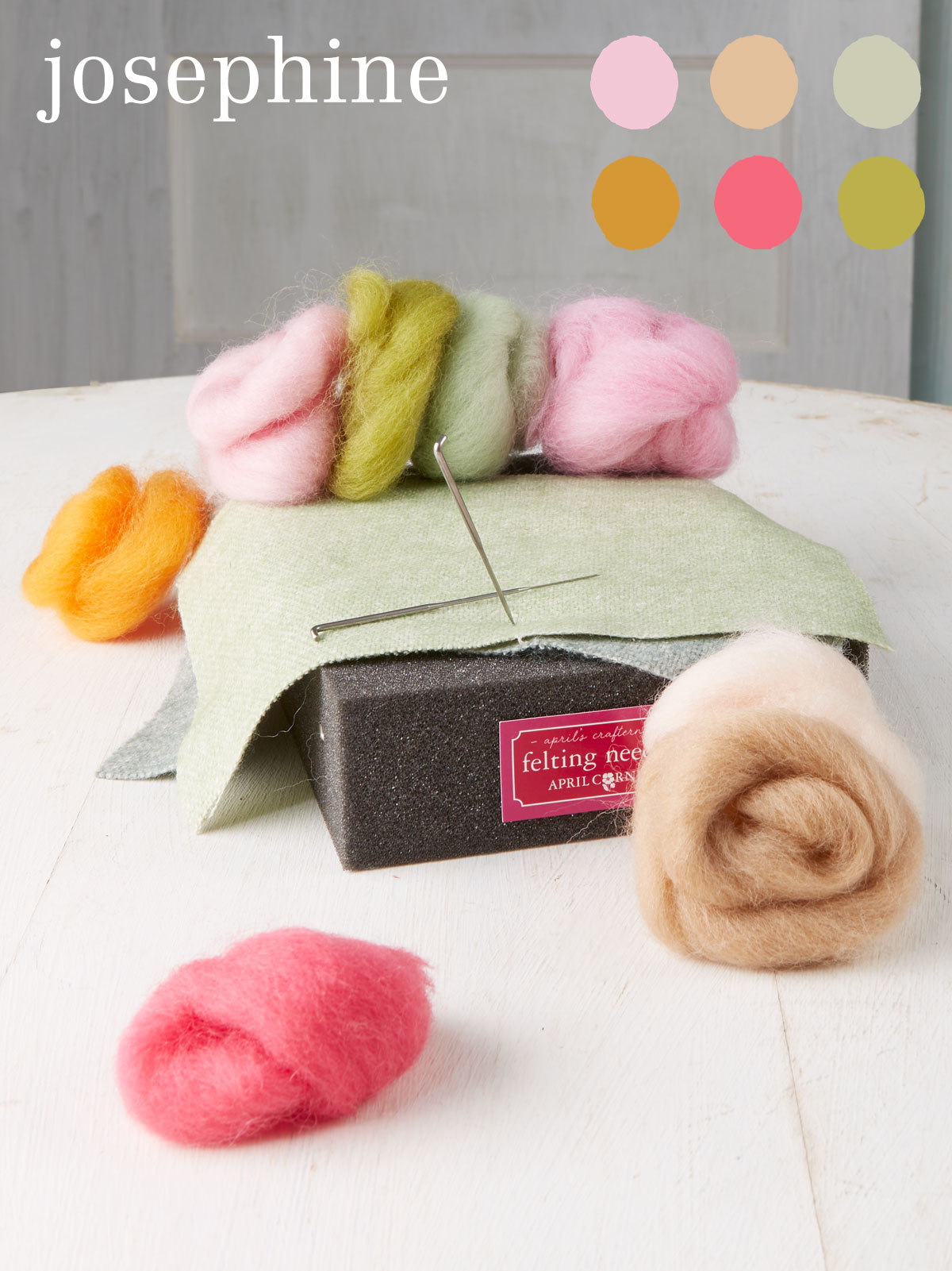Josephine Medium Felting Kit