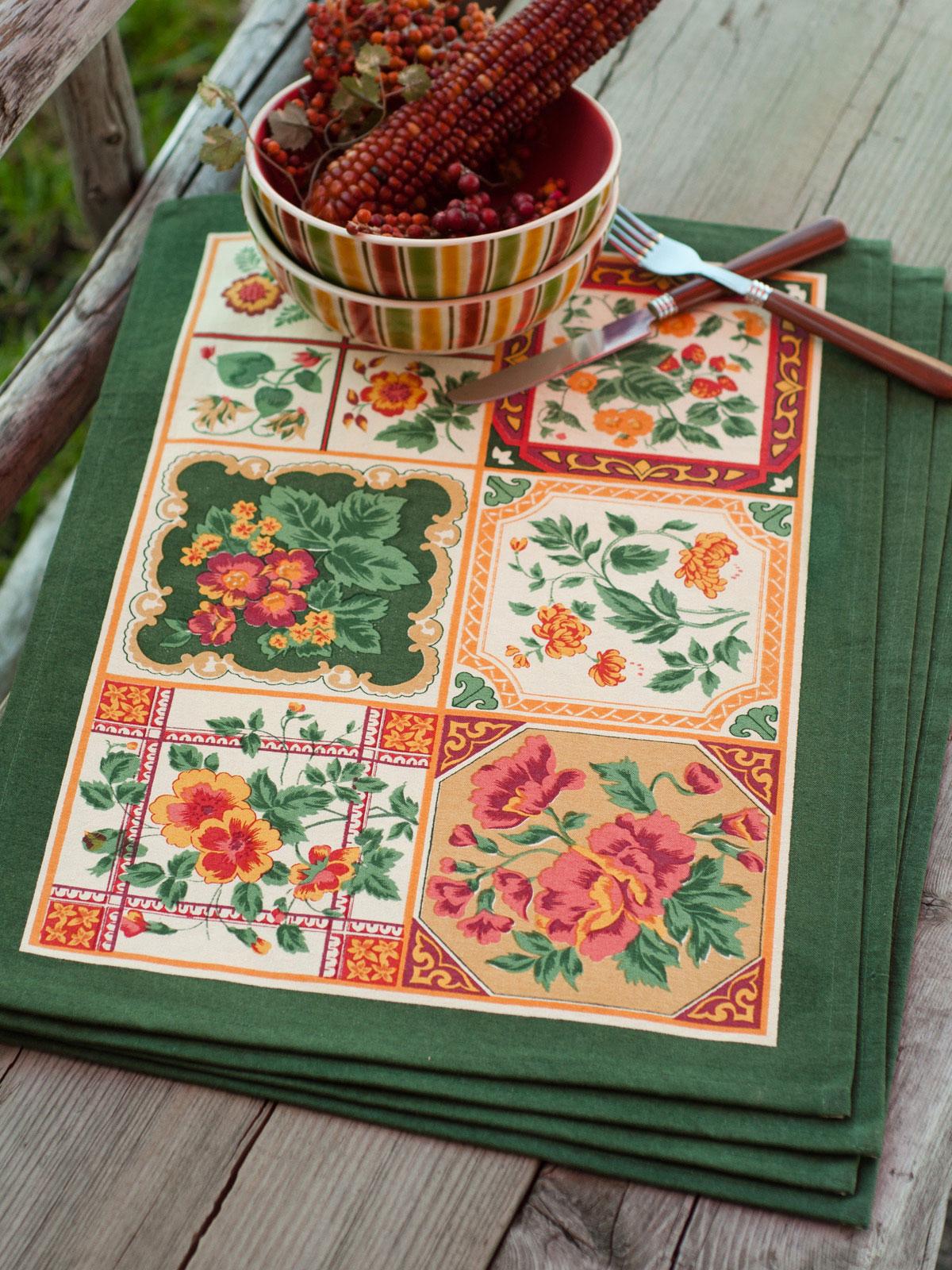 Tile Placemat Set/4