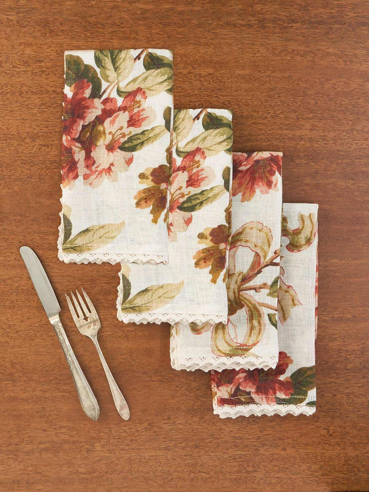 Carolina Linen Napkin Set of 4