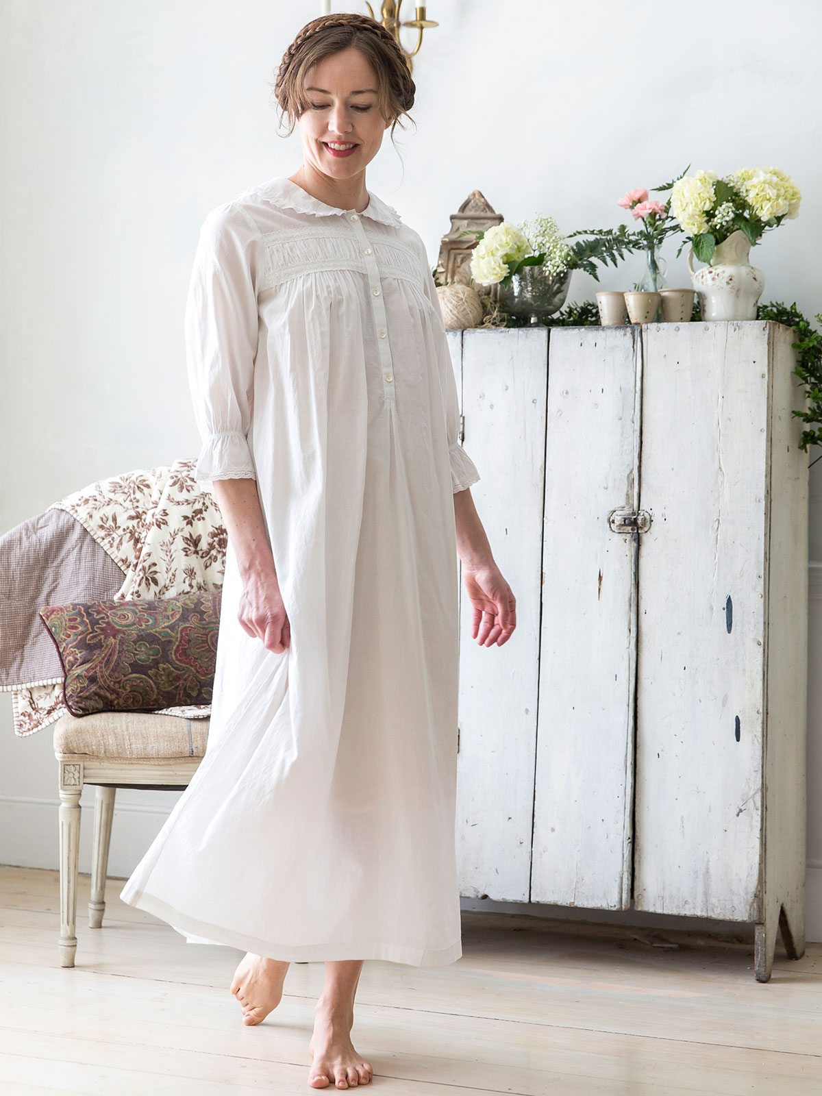 Emily Nighty Ladies Clothing Nighties Dressing Gowns Beautiful