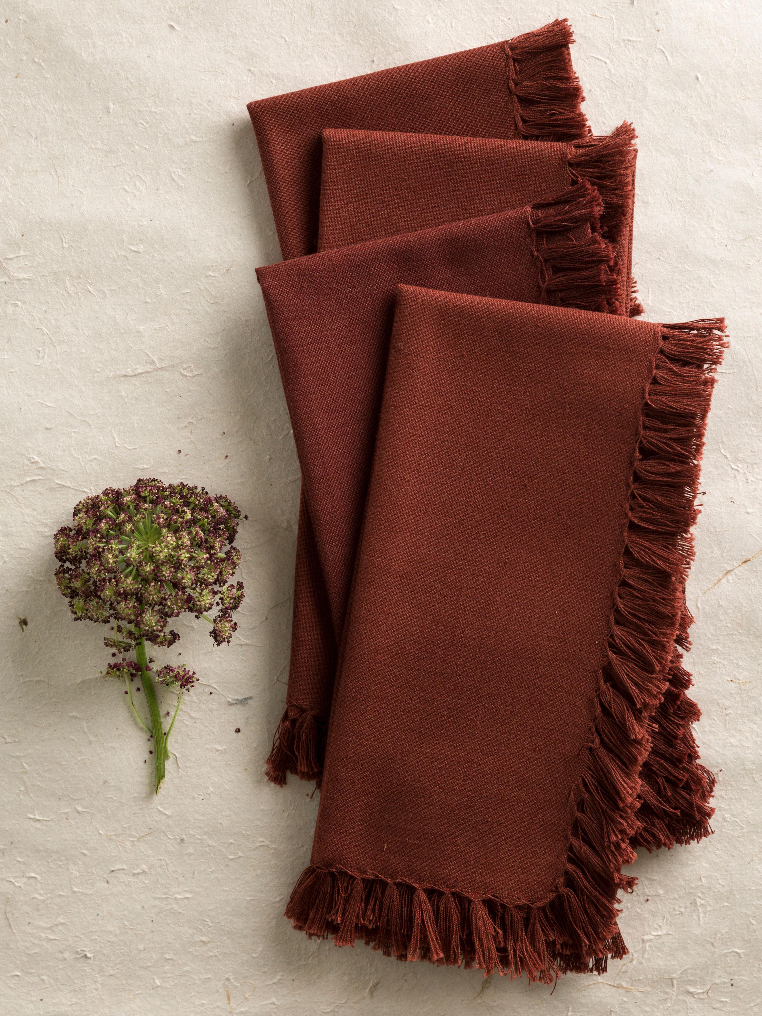 Essential Napkin Set of 4 - Chocolate