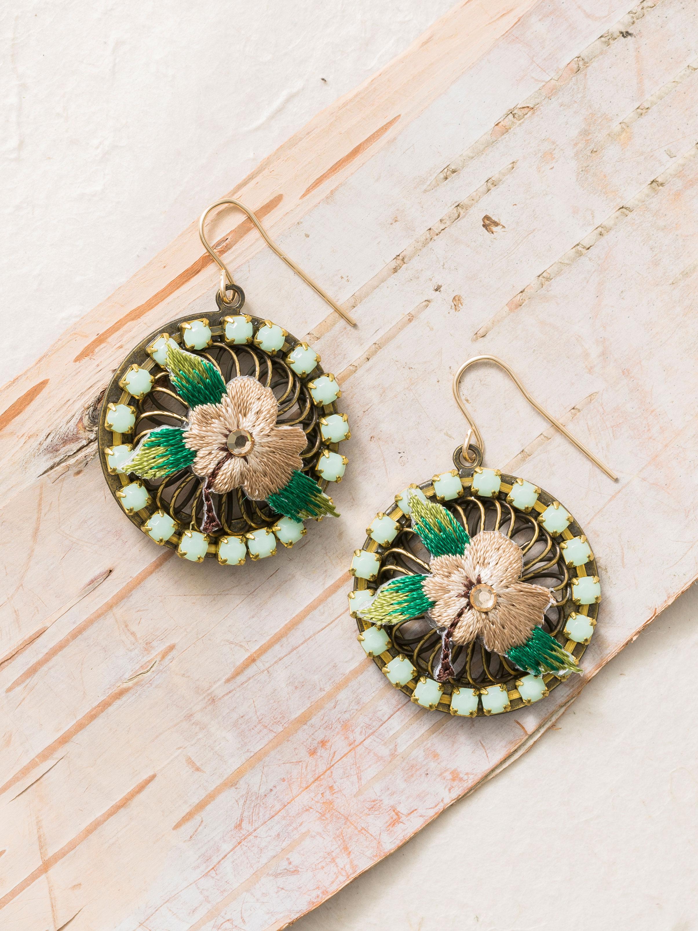 Fairy Ring Drop Earrings