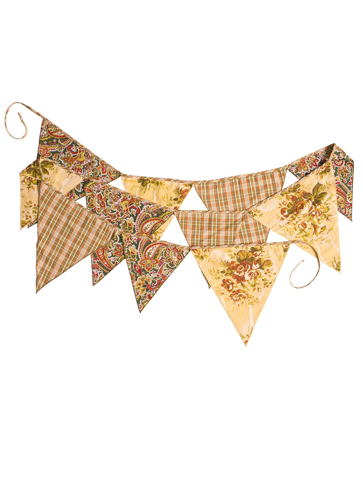 September Patchwork Party Pennants