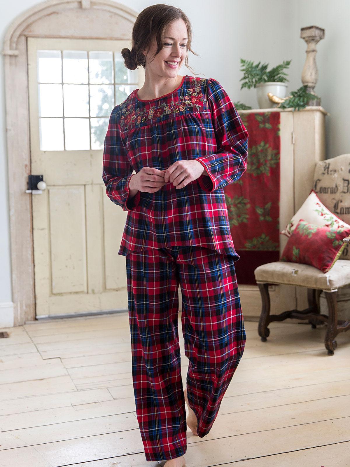 Penny Plaid Pajama