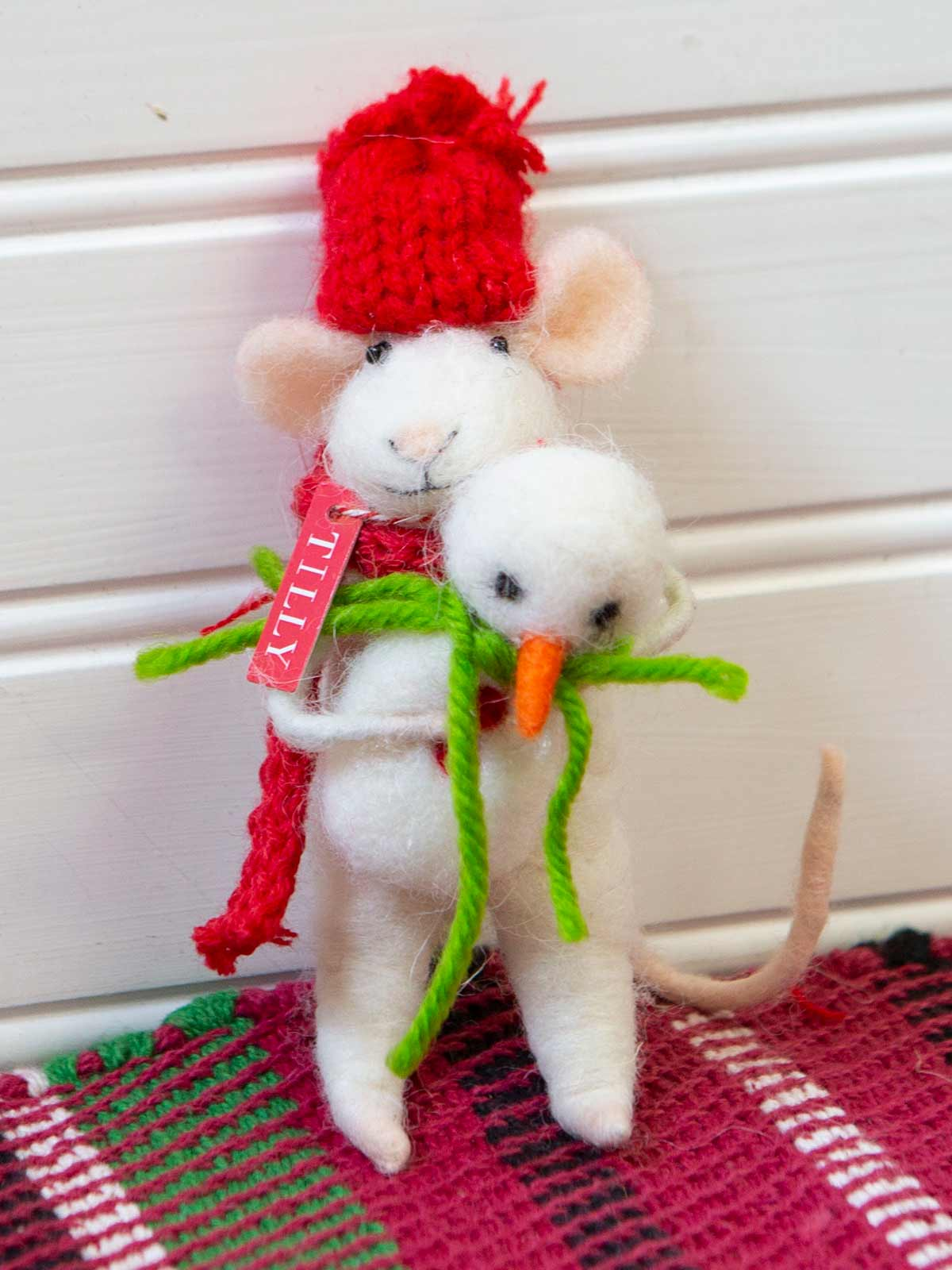 Tilly Felted Mouse