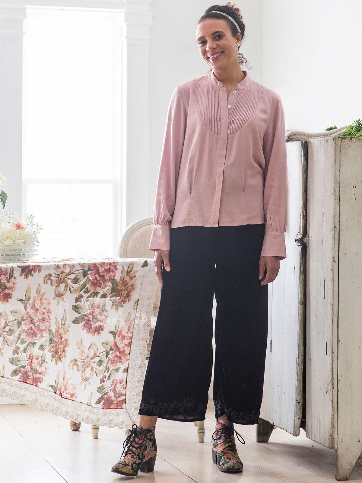 Cordelia Velvet Pant