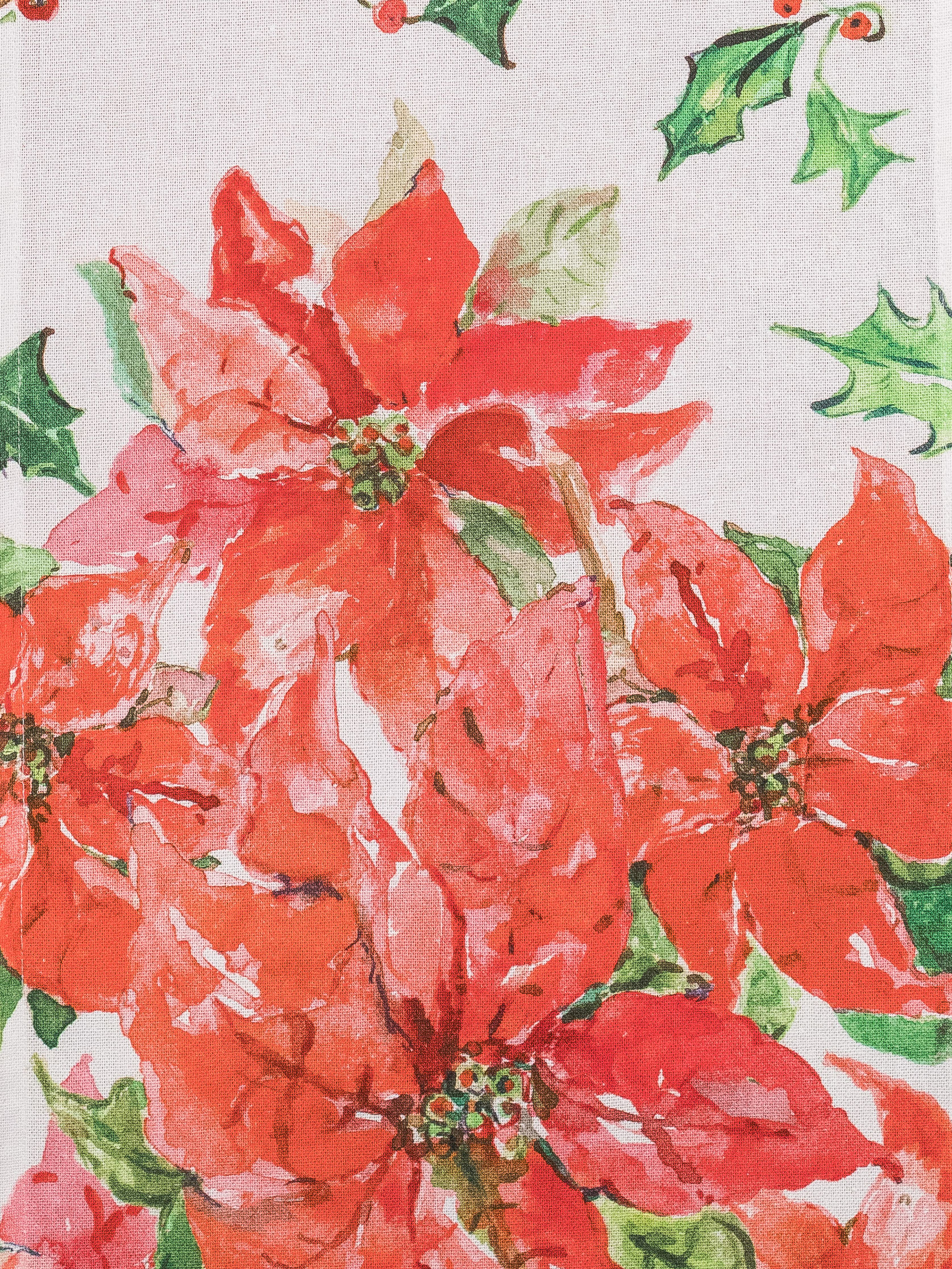April Cornell Bedding Poinsettia Table Runner | Linens & Kitchen, Placemats ...