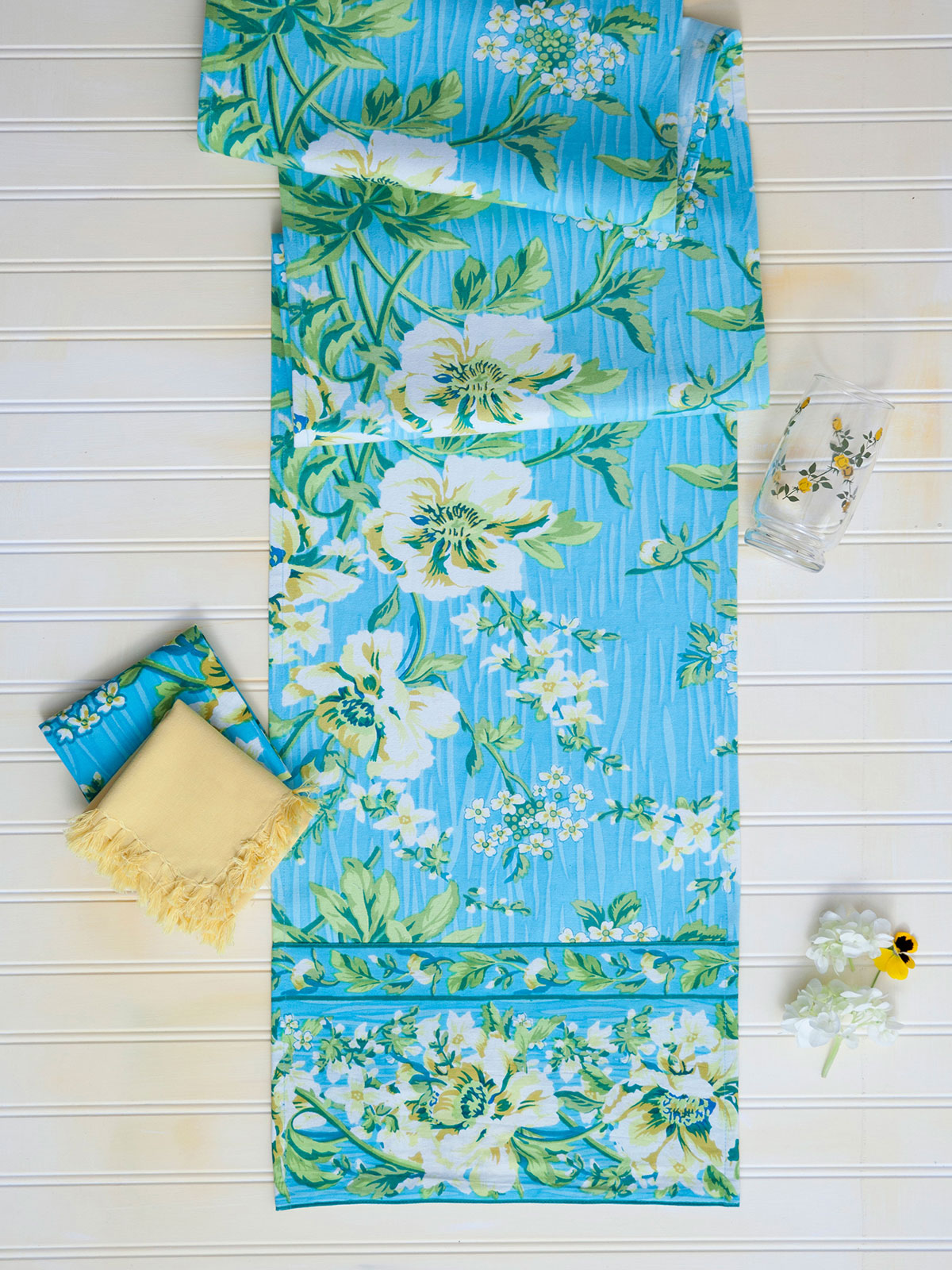 Water Lily Tiny Towel | Linens & Kitchen, Tea Towels and ...