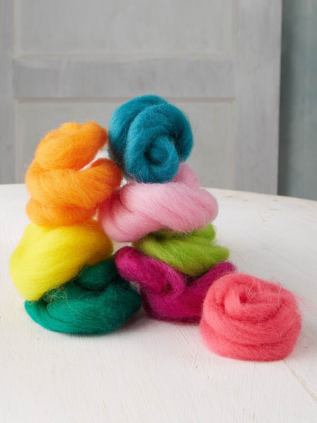 Tropical Flowers Roving Refill Kit