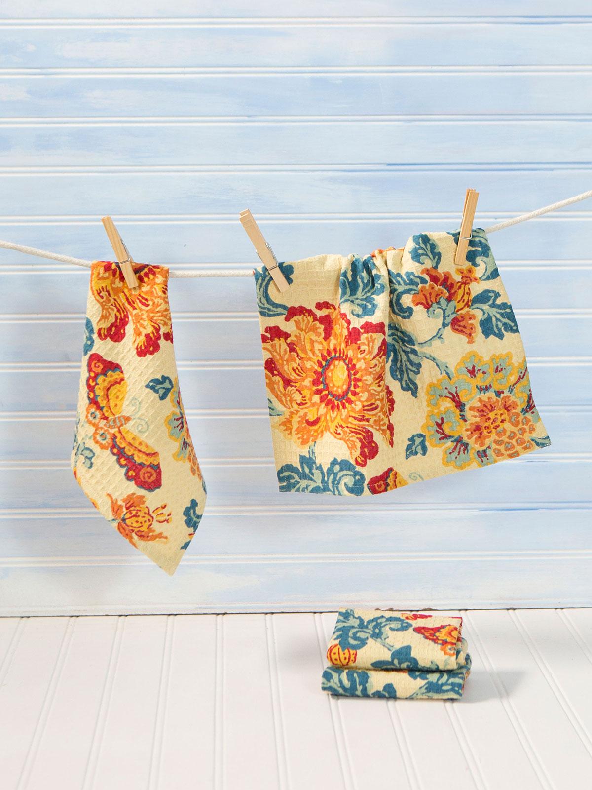Ming Tiny Towel Set of 4