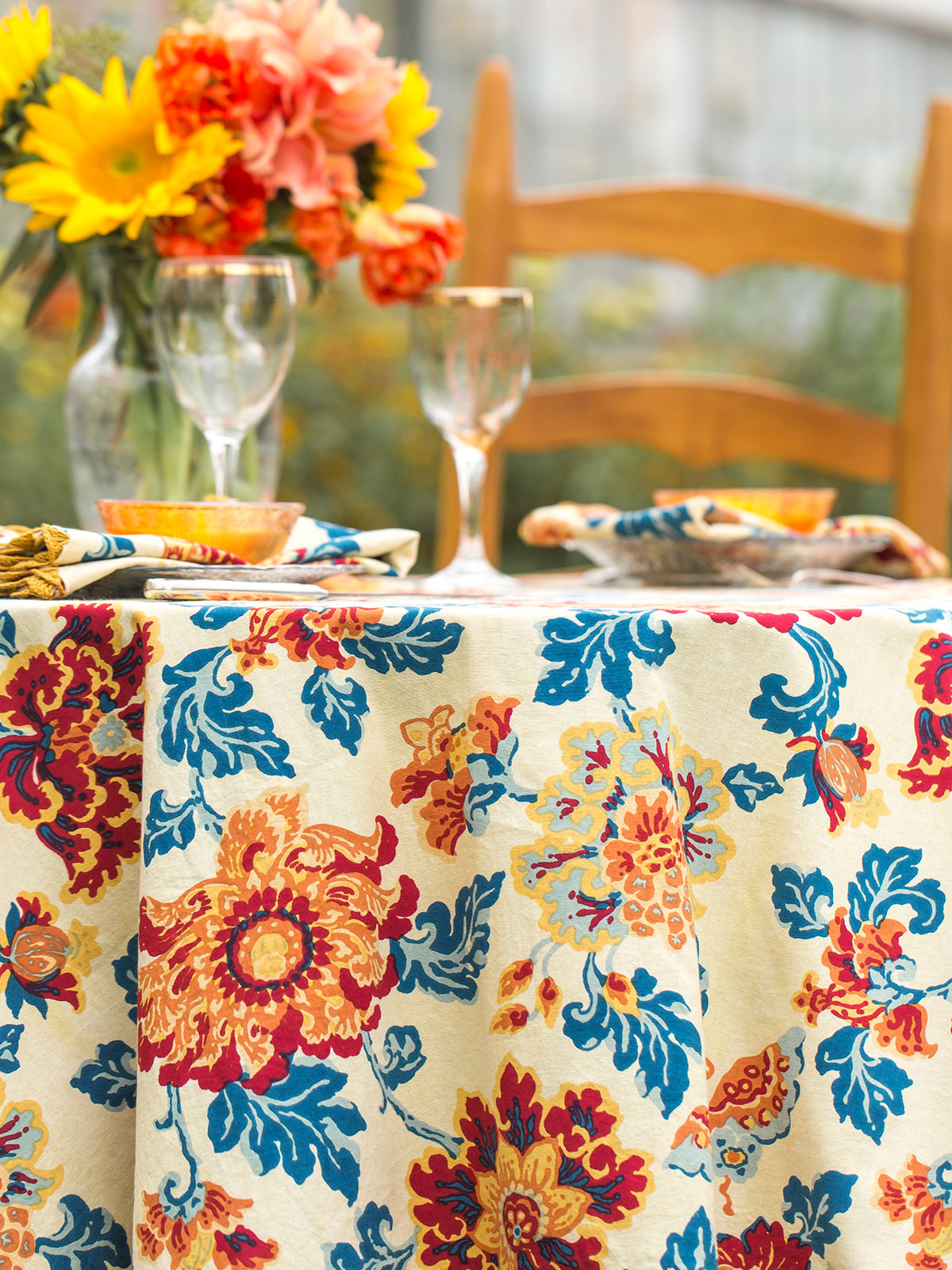 Ming Crochet Tablecloth