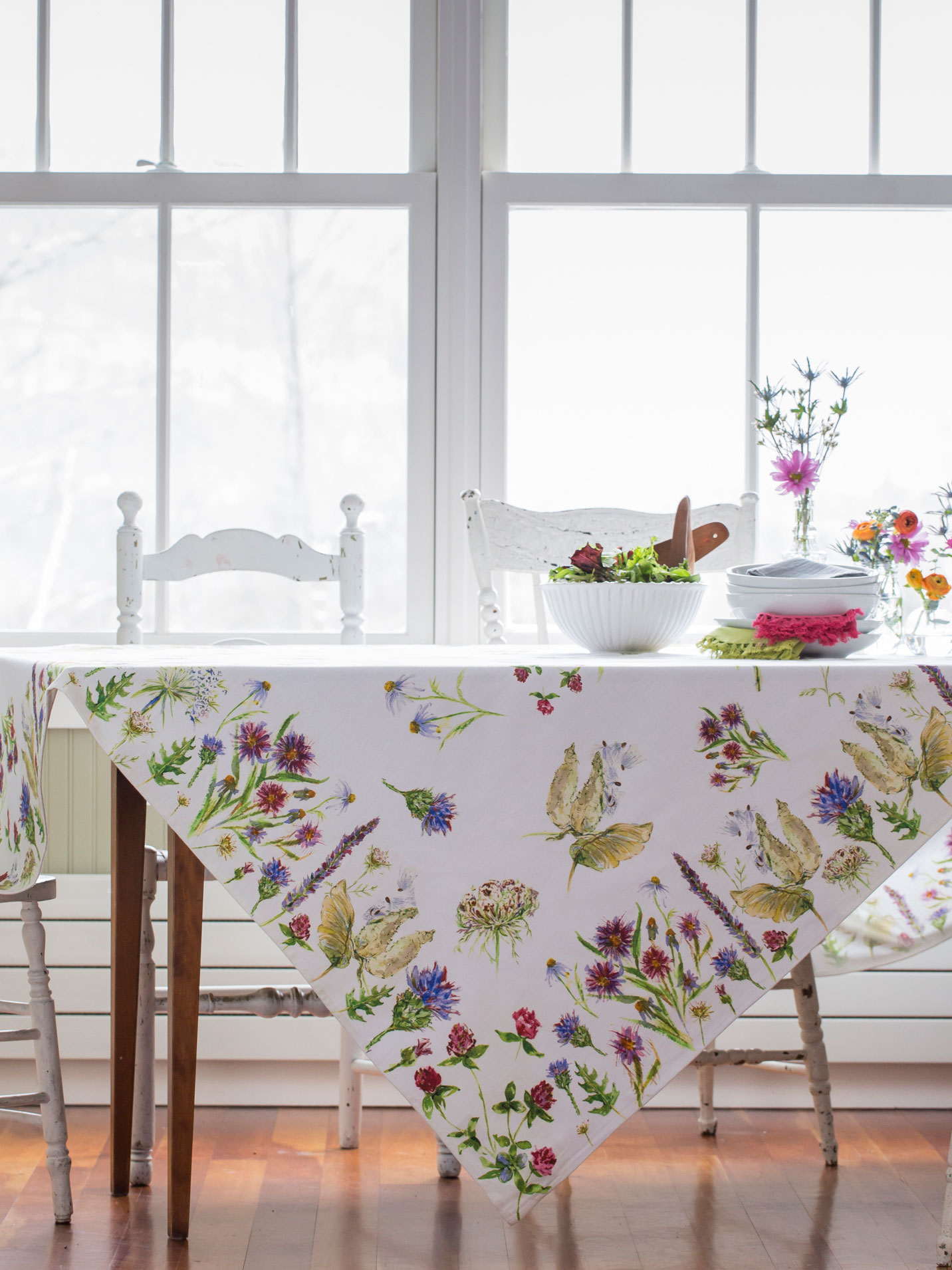 Field Flower Tablecloth