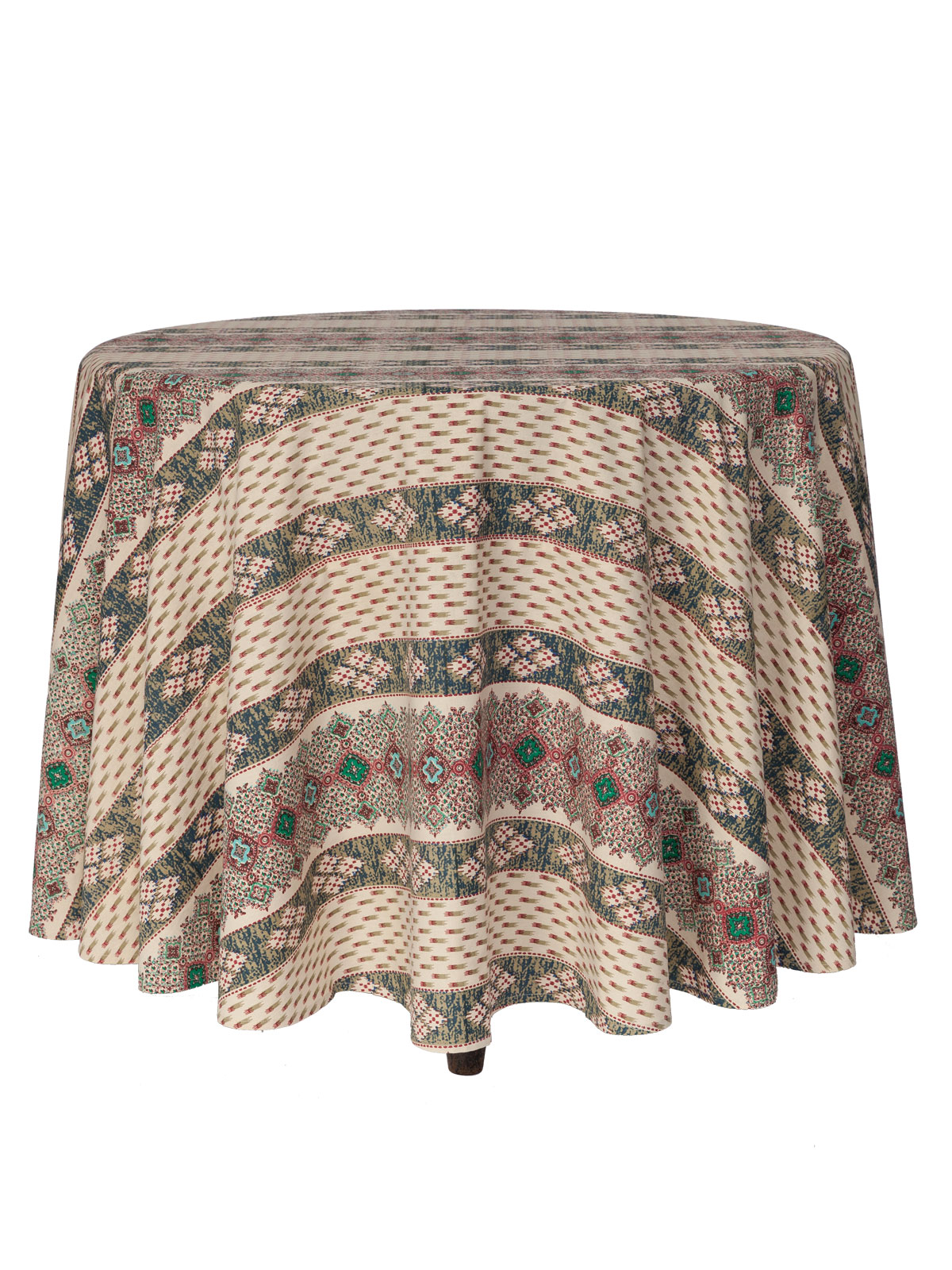 French Lotus Round Tablecloth April S Attic Sale Linens
