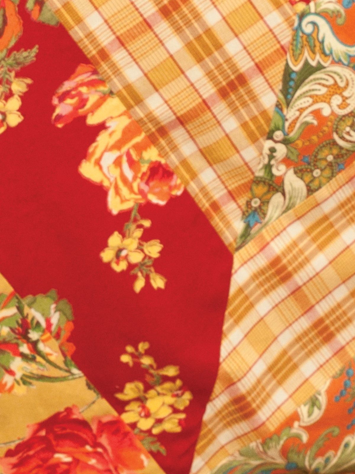 Indian Summer Patchwork Tablecloth April S Attic Sale