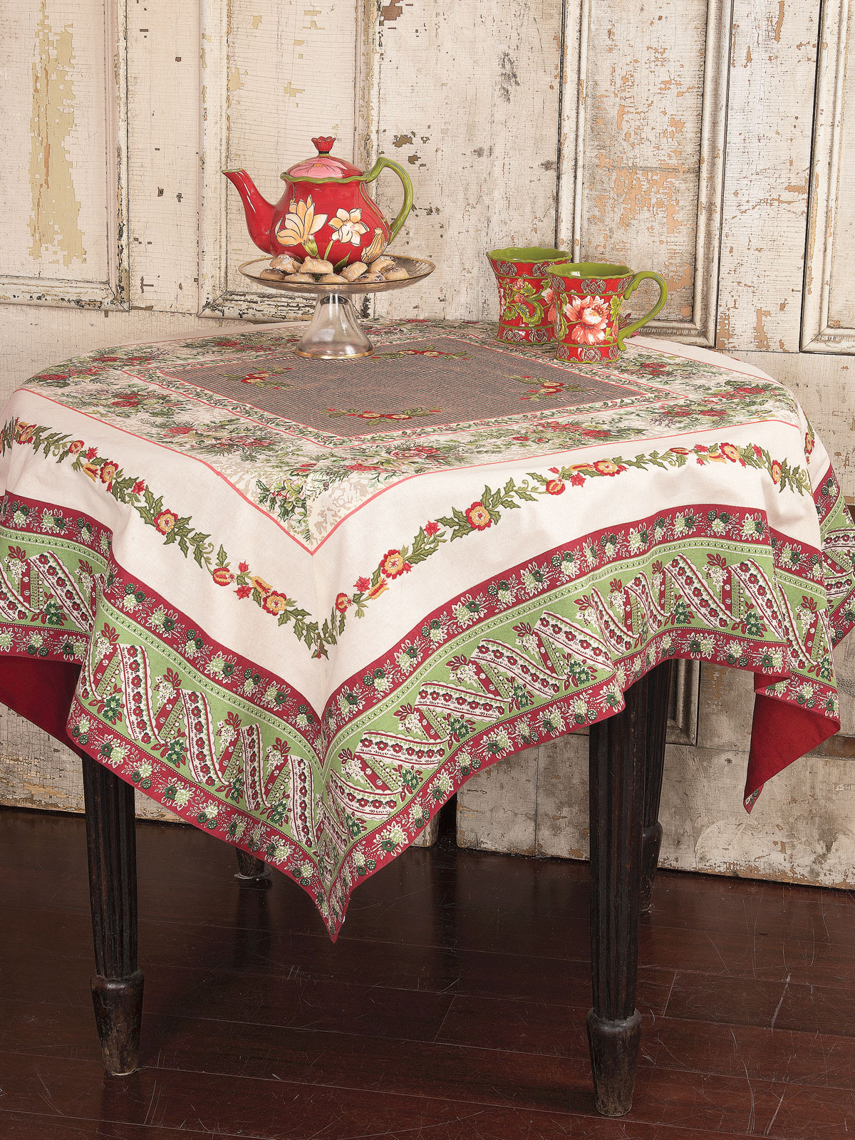 tablecloths marigoldliving table indian handmade linens covers decorative marigold
