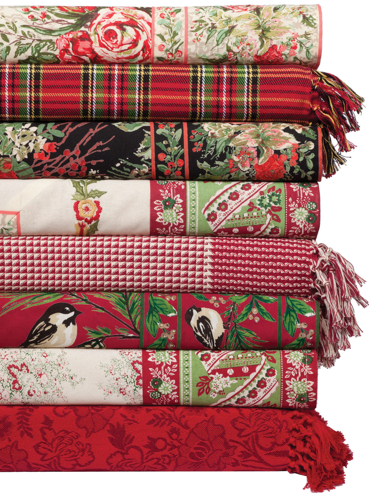 Joyful Patchwork Tablecloth Your Home Christmas Forever