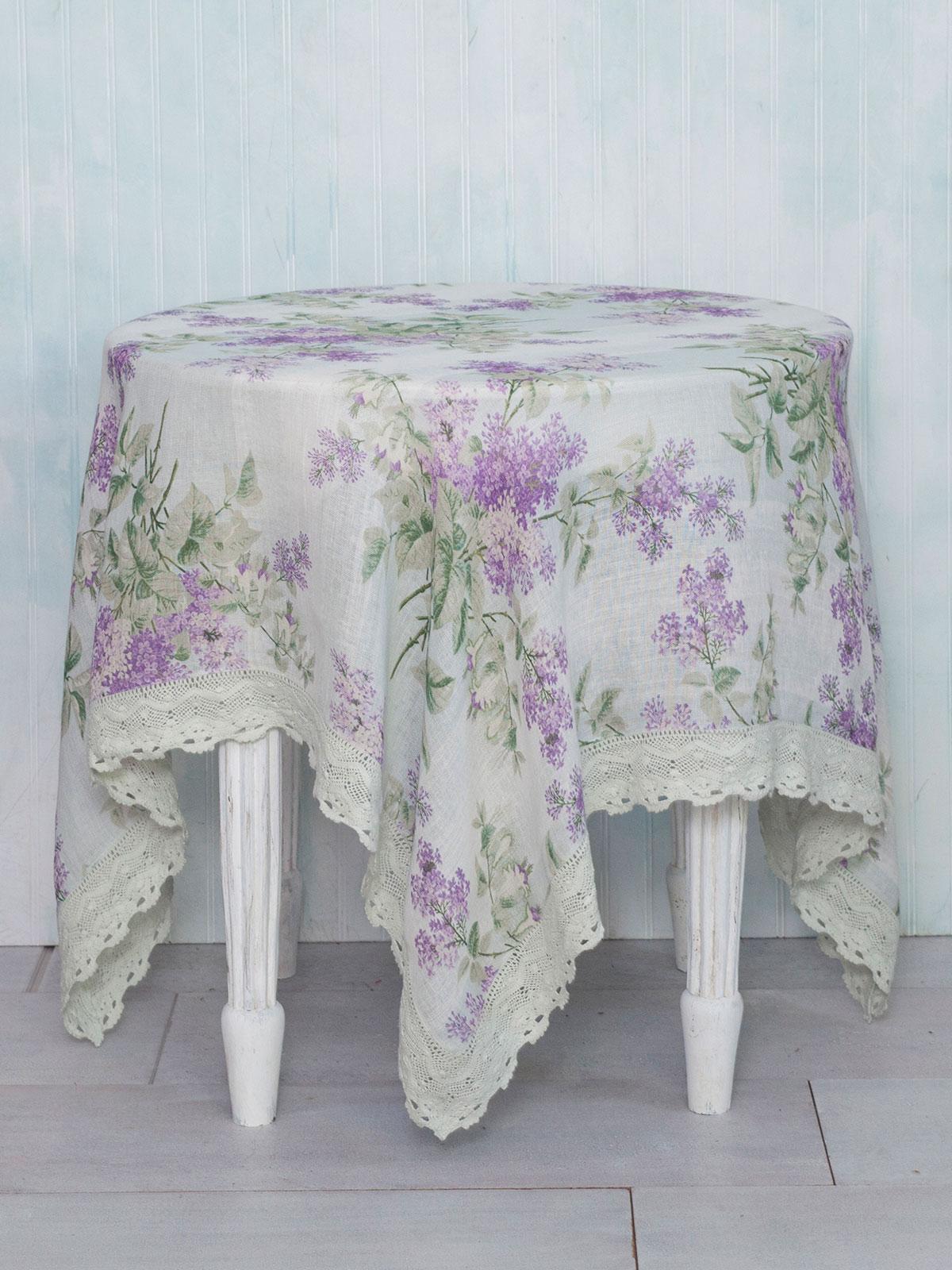Lilah Linen Tablecloth