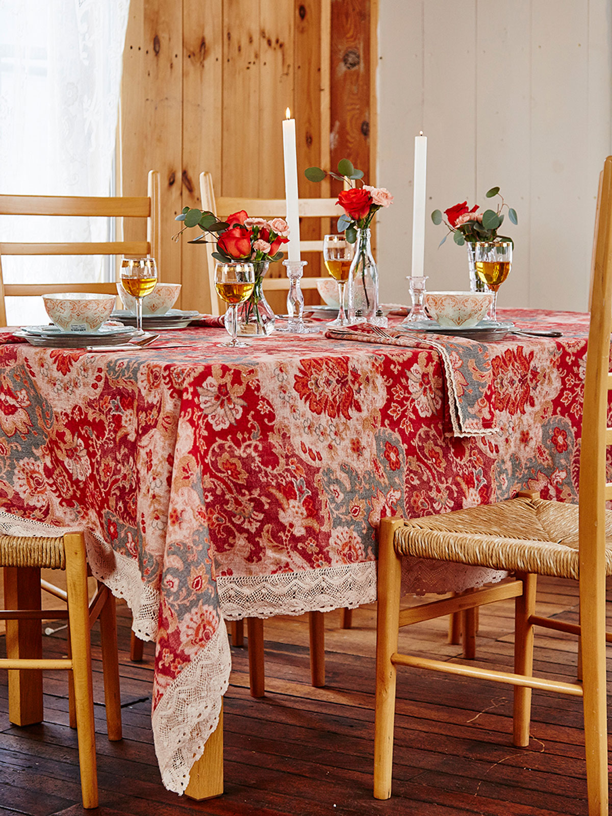 Magic Carpet Linen Tablecloth Kitchen Amp Table Linens