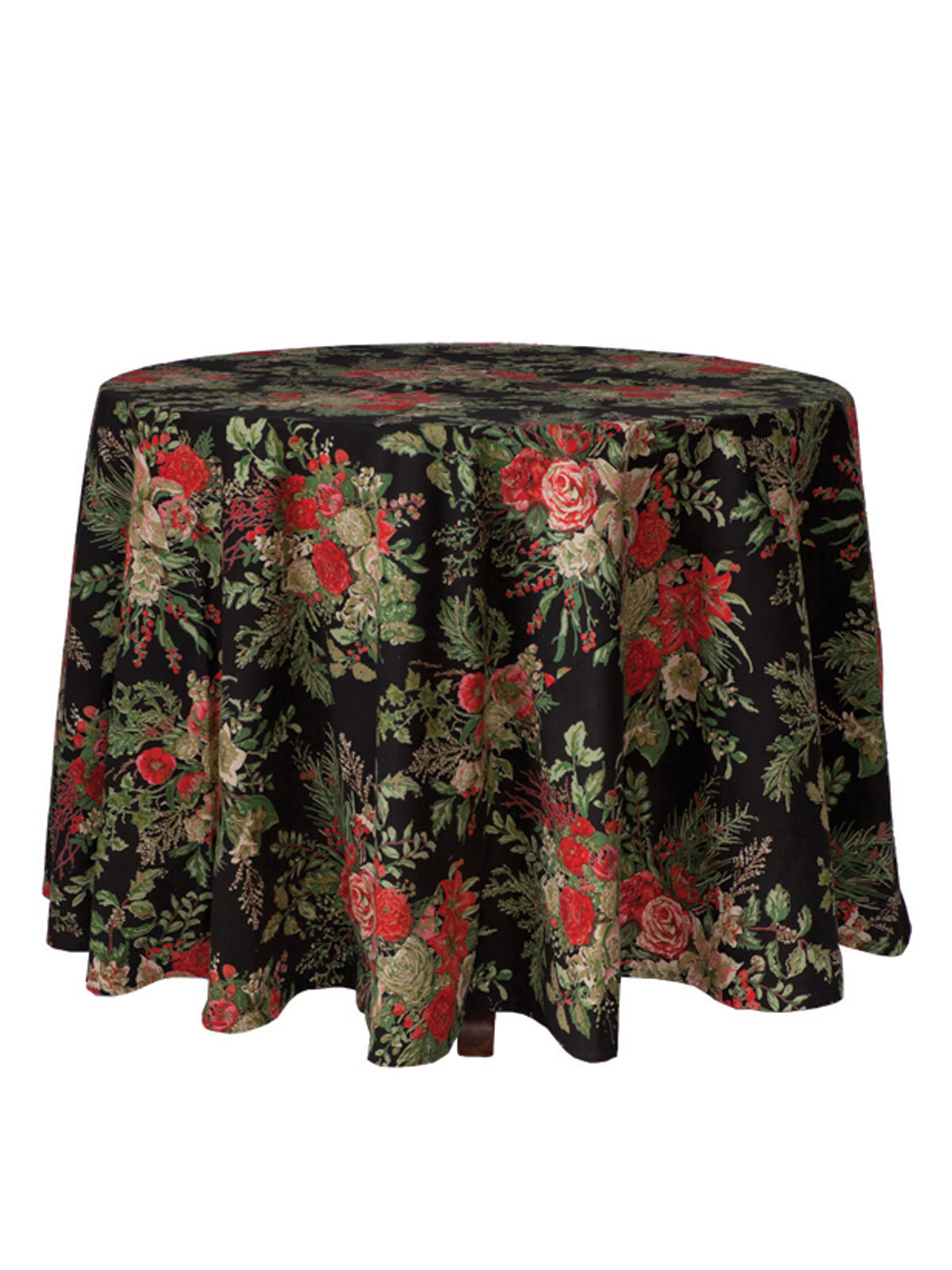 Charmant Merry Tablecloth   Black. Alternate2. Alternate3. Alternate4