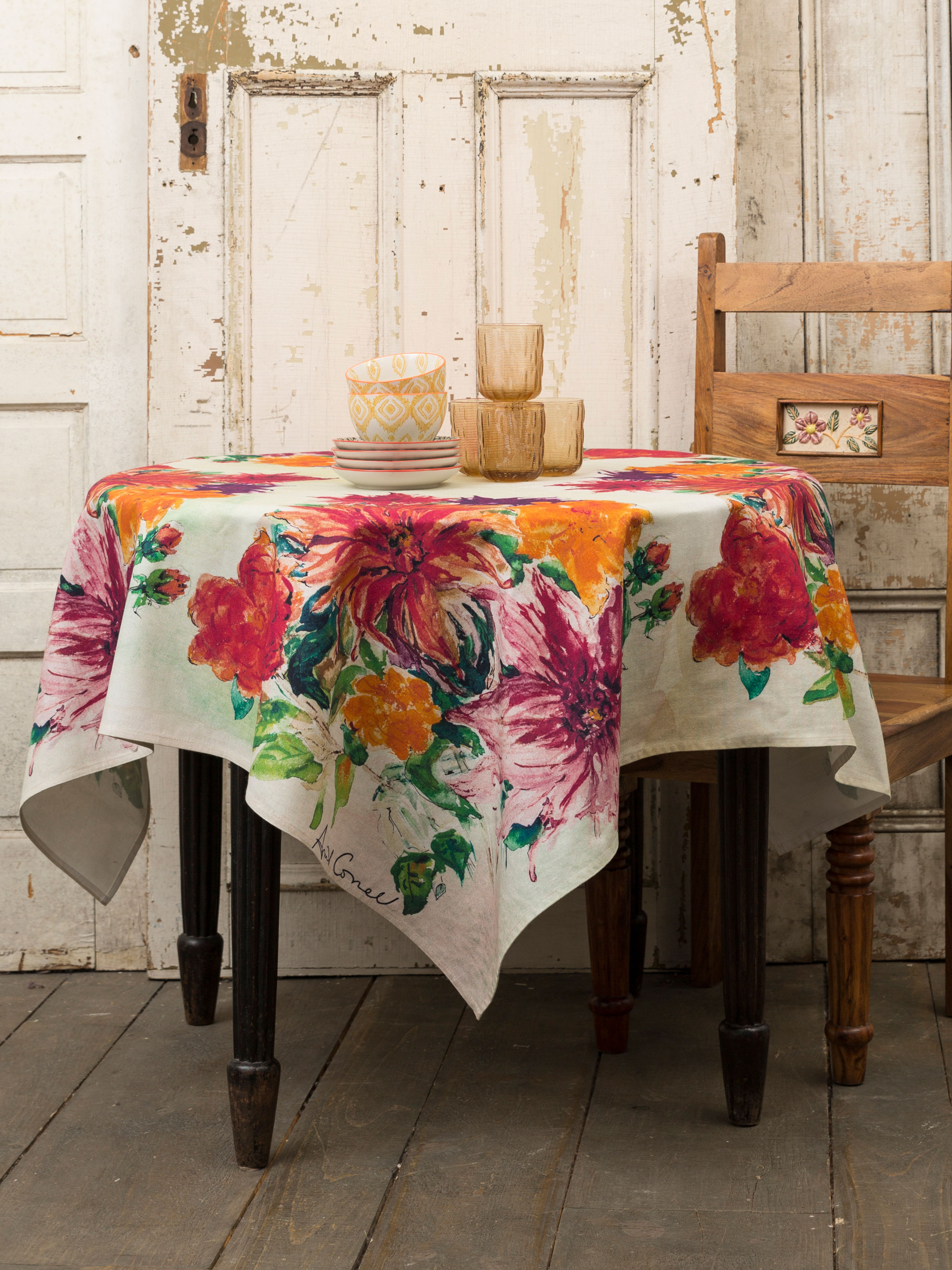 Mums Tablecloth