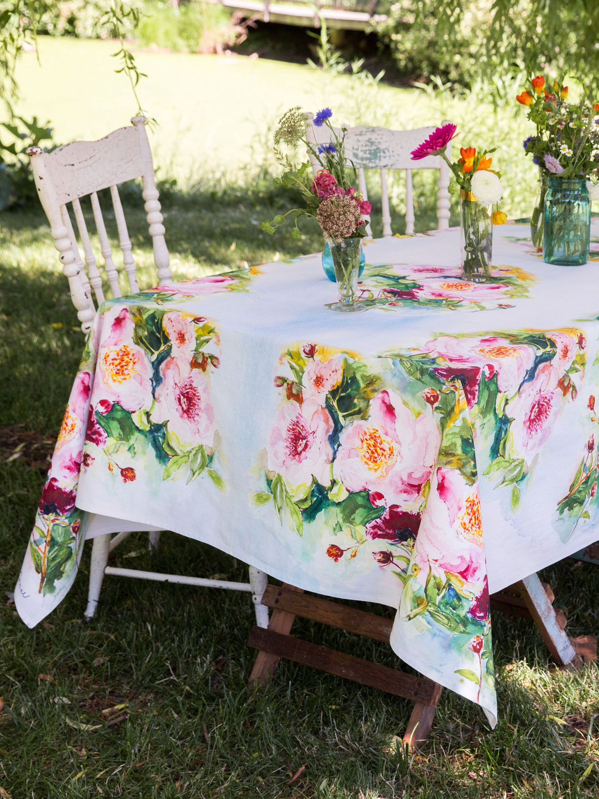 Peony Tablecloth