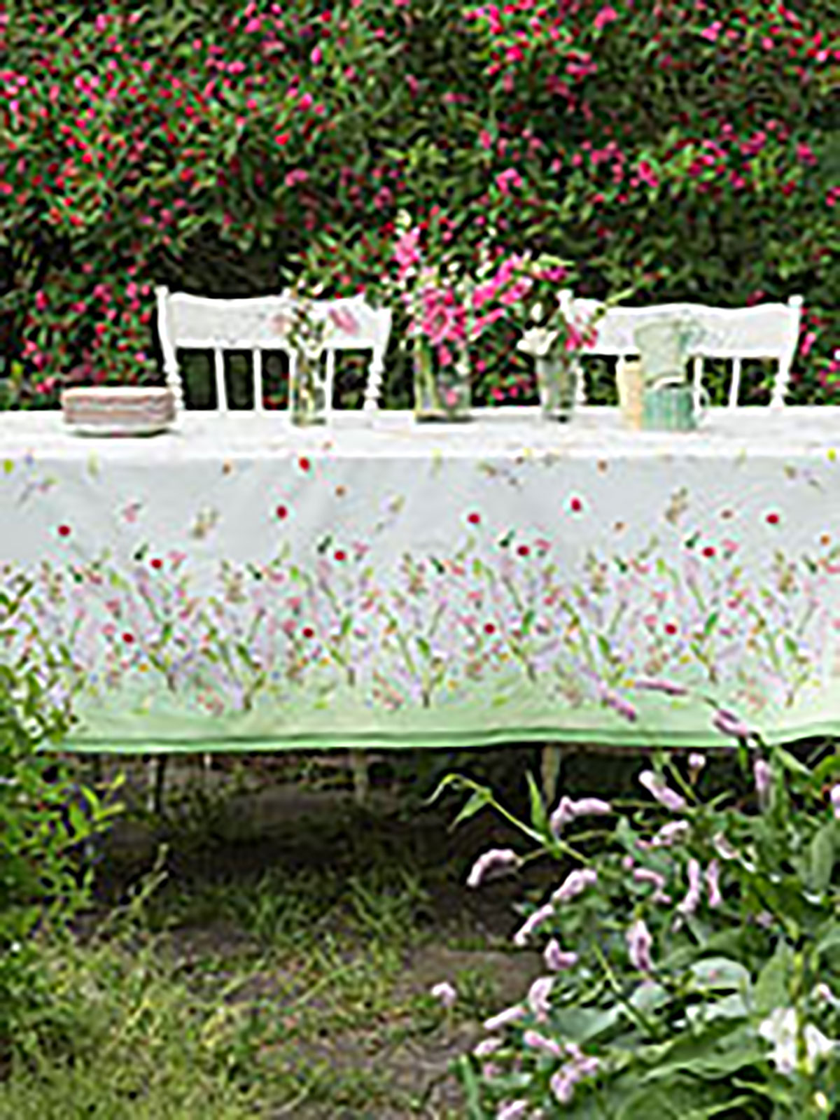 Snapdragon Watercolor Tablecloth