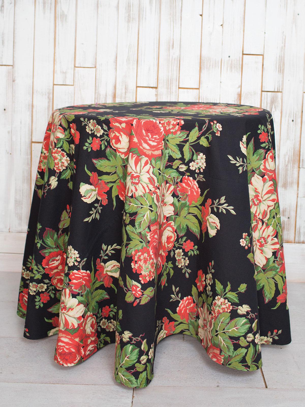 Vivian Round Tablecloth