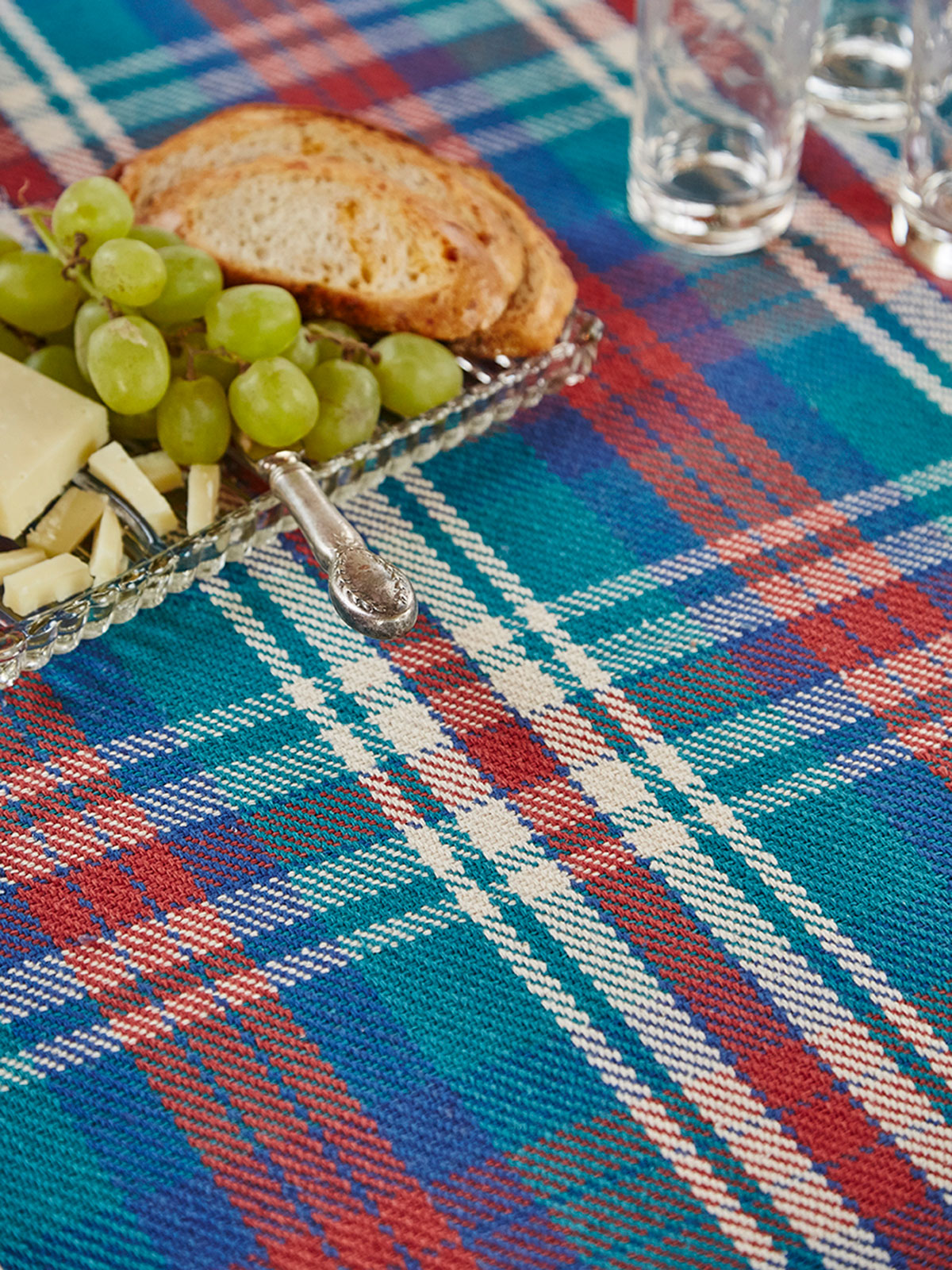 Afternoon Plaid Tablecloth