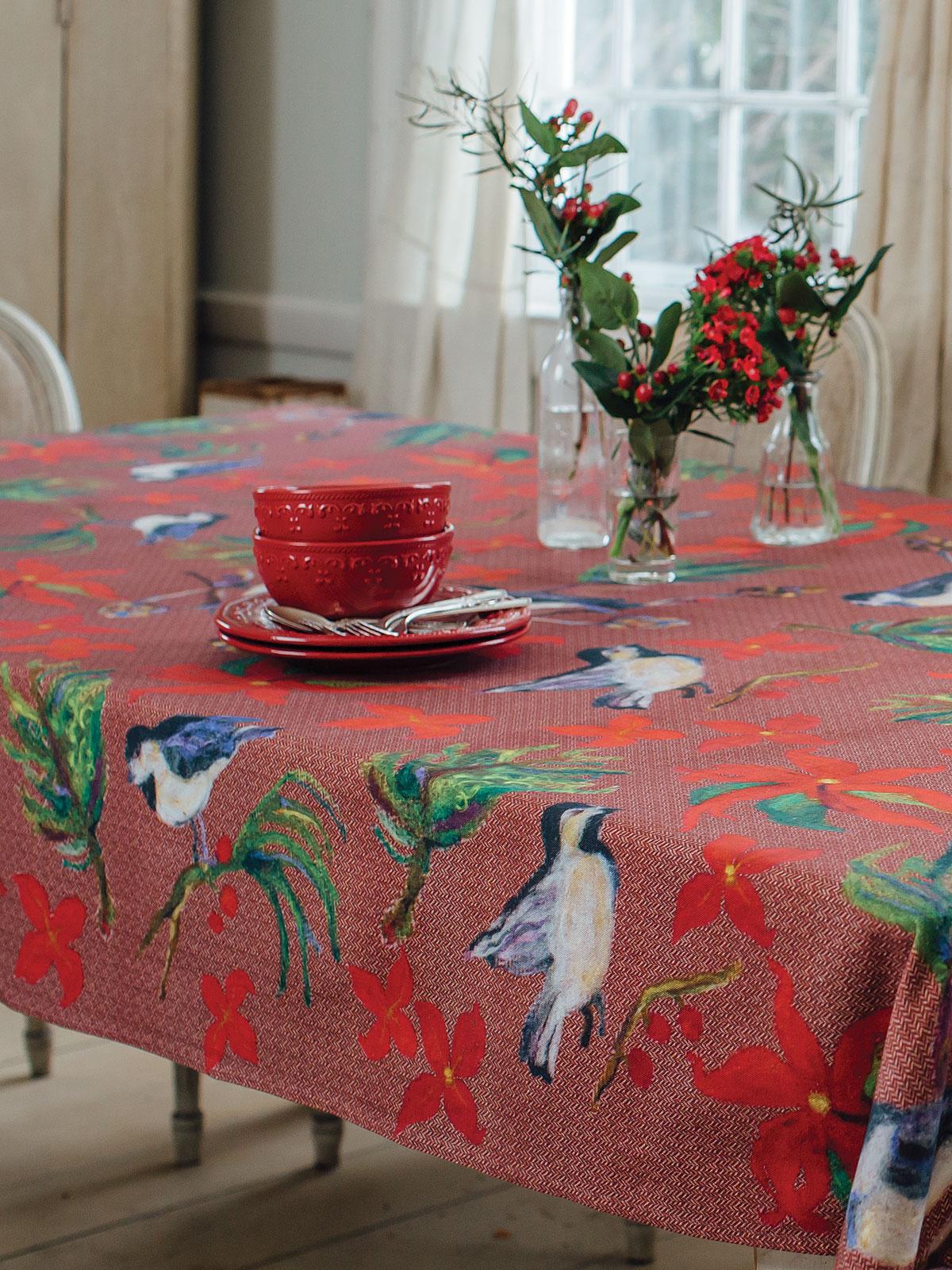 Woodland Christmas Tablecloth