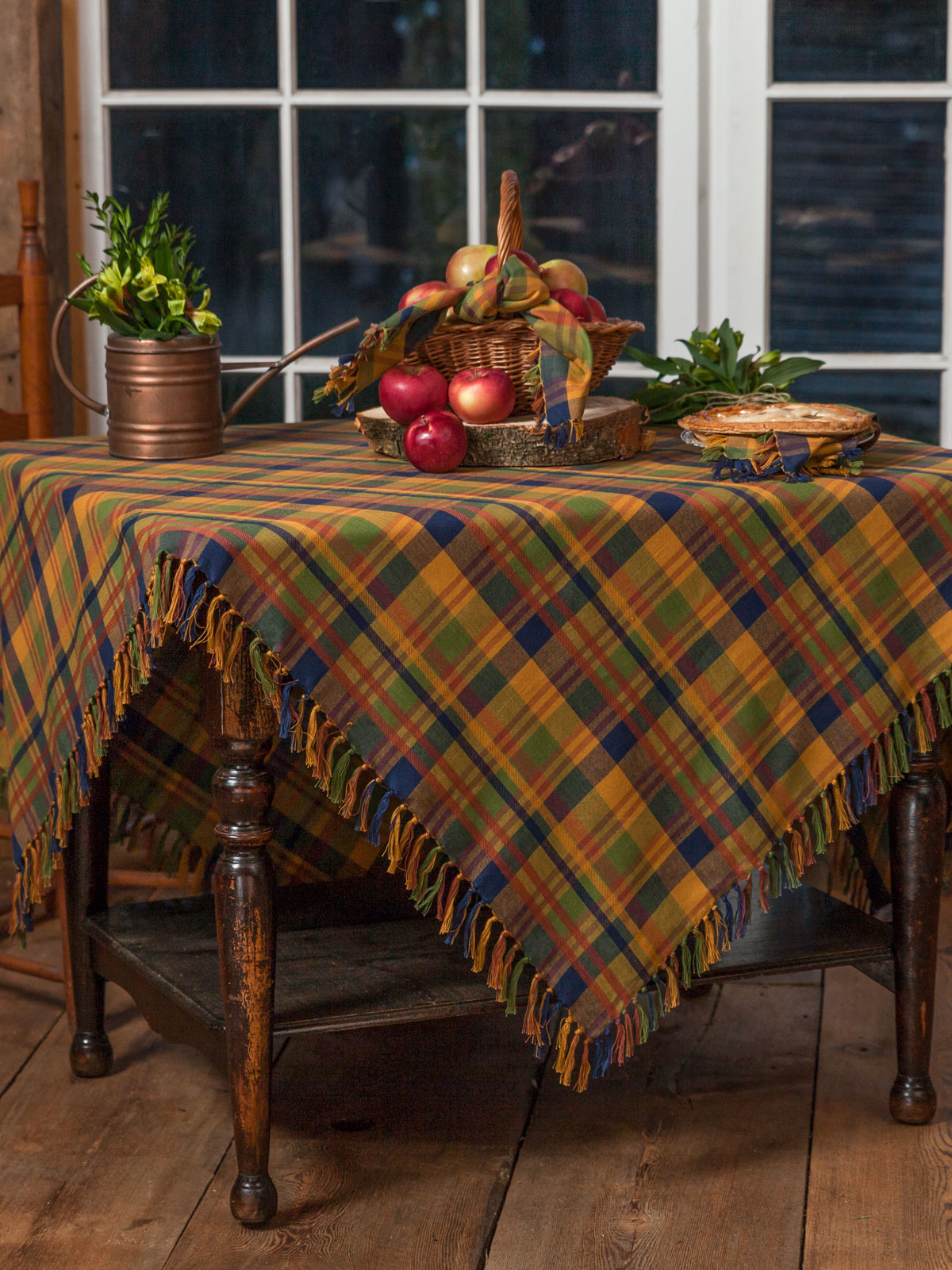 Flea Market Plaid Tablecloth