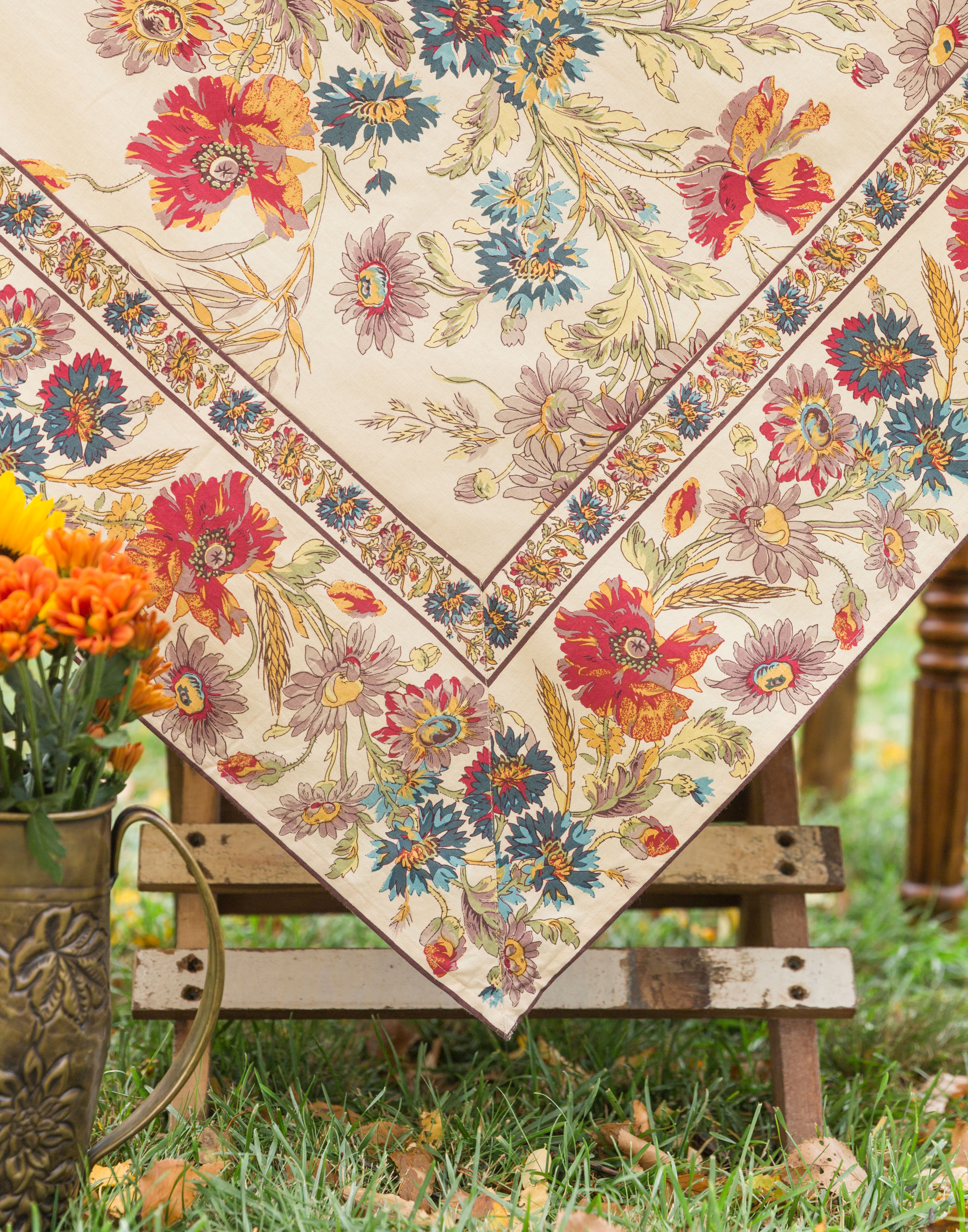 Wildflowers Tablecloth Linens Amp Kitchen Tablecloths