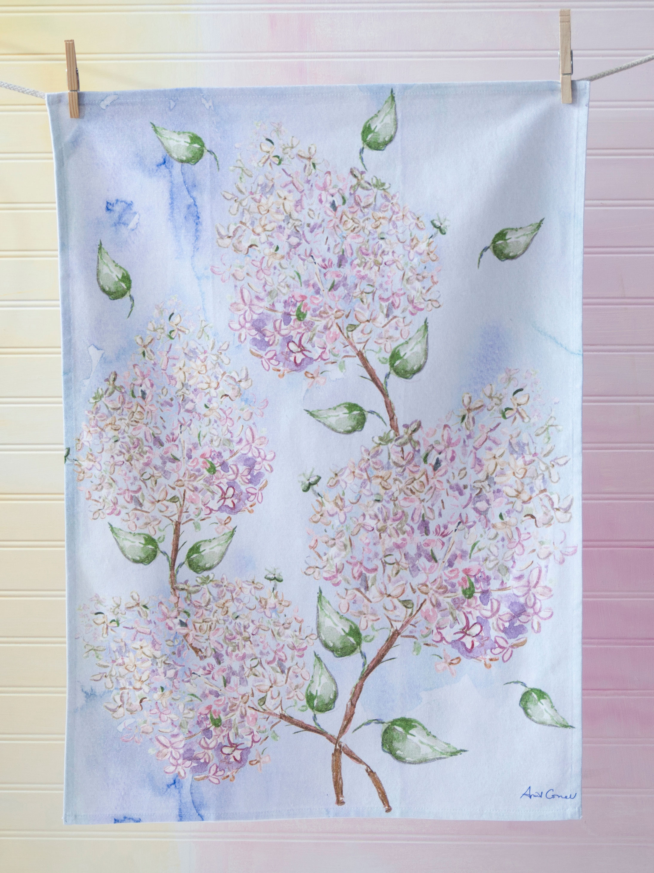 Beautiful Blooms Tea Towel
