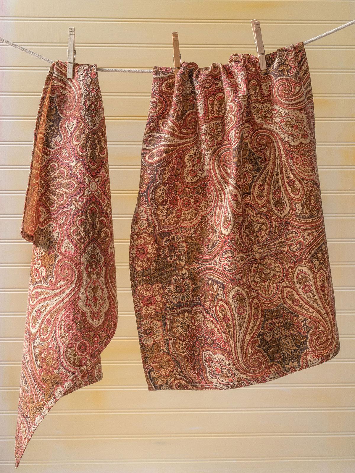 Kashmere Paisley Tea Towel S/2