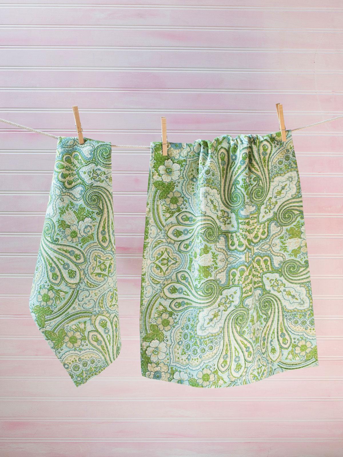 Kashmere Paisley Tea Towel