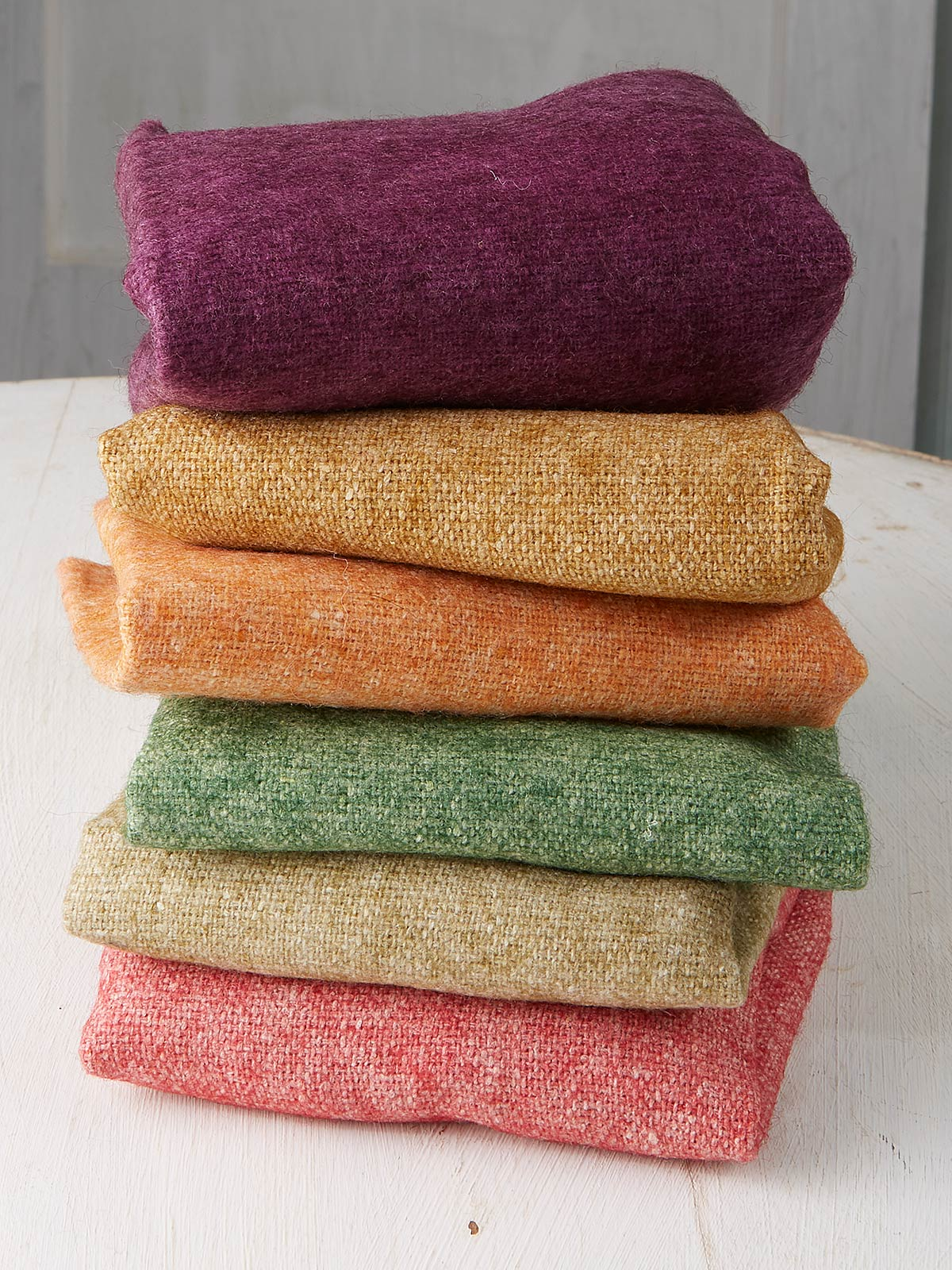 Vermont Cabin Wool Felt Squares Set of 6