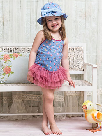 Basket Rose Girls Cap