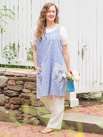 Picnic Patchwork Craft Apron