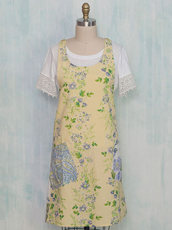 Provence Patchwork Craft Apron