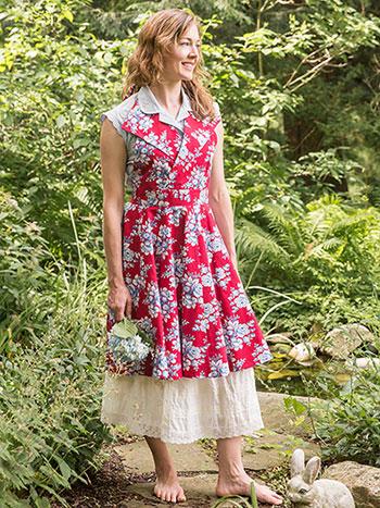 Willa Rose Collar Apron