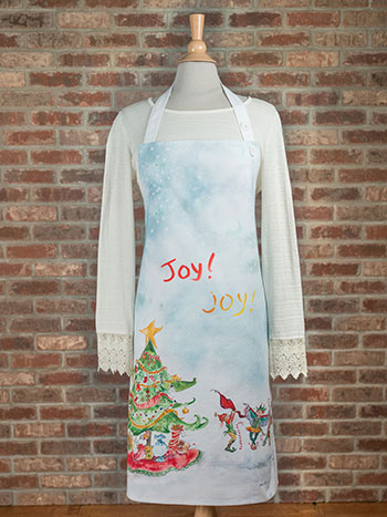Elves Adult Apron