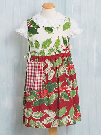 Merry Maker's Patchwork Kids Apron