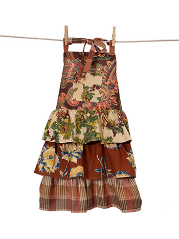 Harvest Patchwork Kids Apron