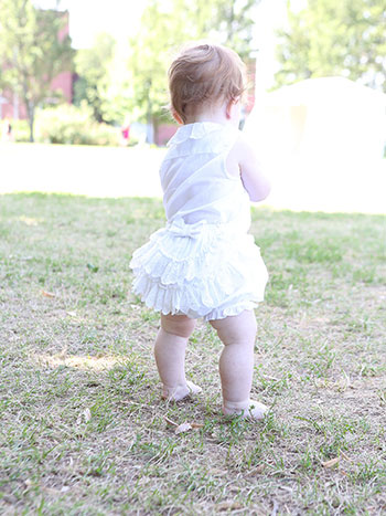 Ruffles Girls Bloomer